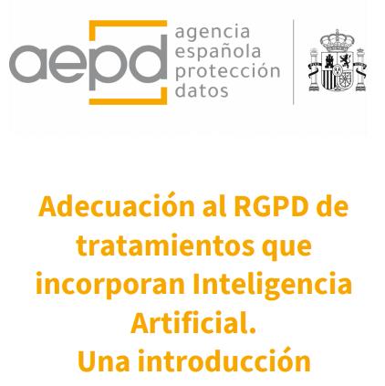 Inteligencia artificial en salud y RGPD