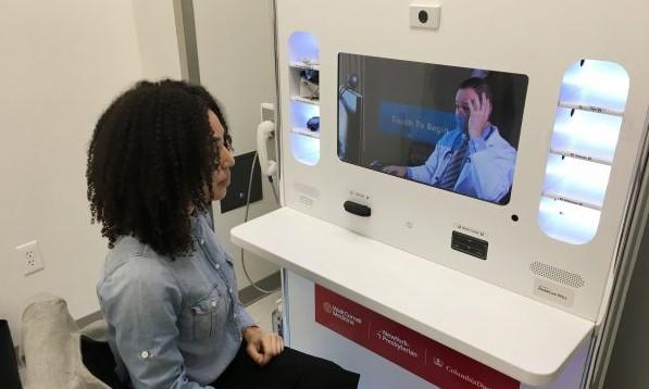 Kiosko de telemedicina